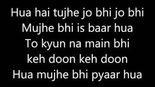 Tera Hone Laga Hoon Song Karaoke And Lyrics   APKGK   Atif Aslam   Alisha Chinai
