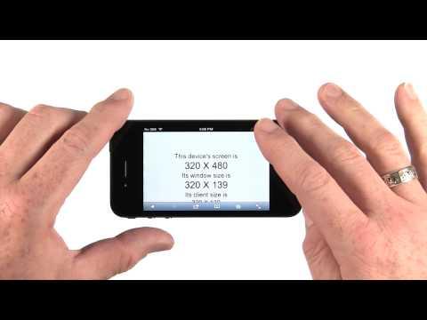 Initial Scale - Mobile Web Development