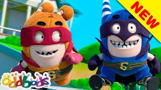 ODDBODS | Young Justice Heroes | Cartoons For Kids