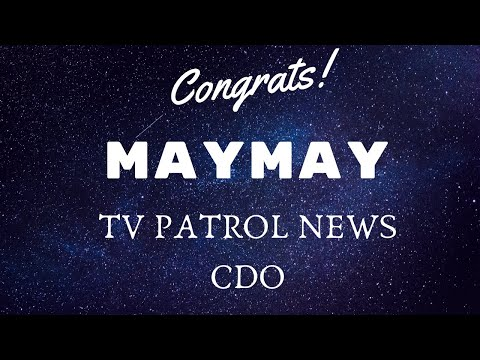 MayWard - Maymay on TV Patrol Cagayan De Oro News