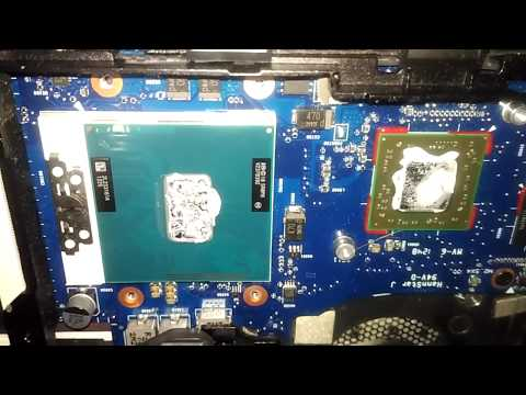 HP Elitebook 8470p 8470 CPU Replacement