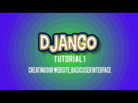 Django Python Web Framework - 1