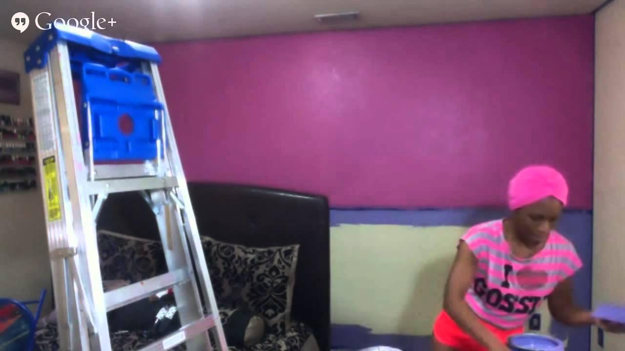 DIY BEDROOM PAINTING