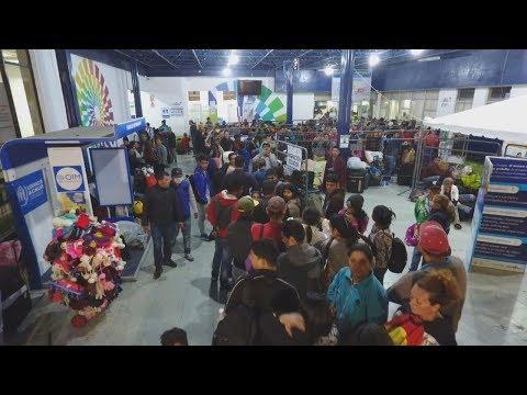 Incrementa movimiento de migrantes venezolanos en la frontera con Ecuador