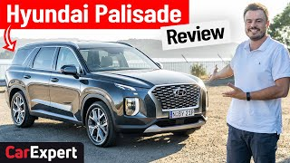 Hyundai Palisade review 2021: 8 seat SUV, plus a stack of boot room!