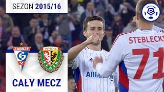 Górnik Zabrze - Śląsk Wrocław [2. połowa] sezon 201516 kolejka 34