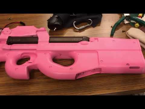 GGO ピンクのP90【ぴーちゃん】塗ってみた