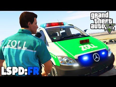 GTA 5 LSPD:FR - Zoll auf der Autobahn! - Deutsch - Polizei Mod #47 Grand Theft Auto V