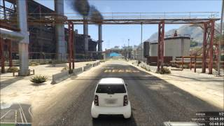 GTA 5 Online Course Custom : Micro-Kart Industry