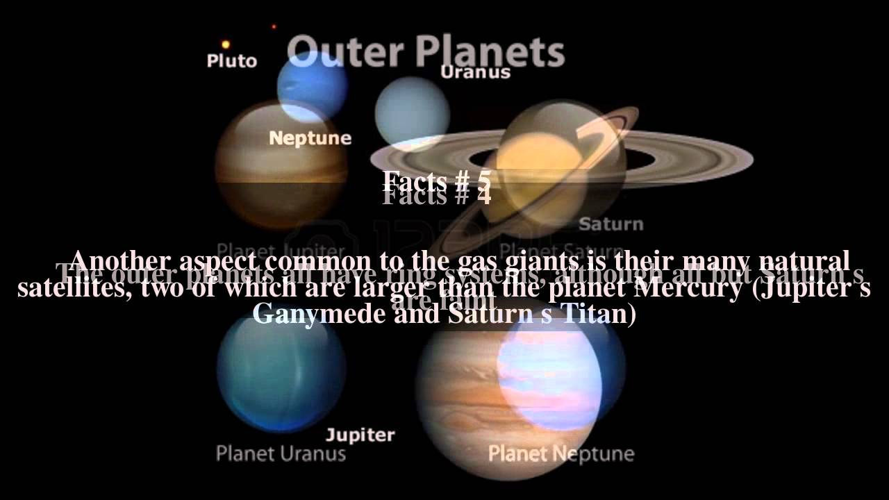 Outer planets Top # 7 Facts - YouTube