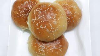 বার্গার বান তৈরির সহজ রেসিপি//burger bun recipe//bun recipe//Bread recipe