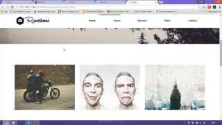 Işıklı widget Adobe Muse CC video oluşturma