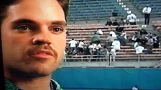 Young Mike Piazza Los Angeles Dodgers Talks Home Runs