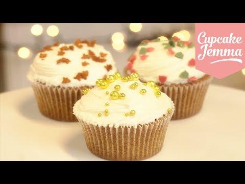 Get Spiced Christmas Cupcakes | Cupcake Jemma Snapshots