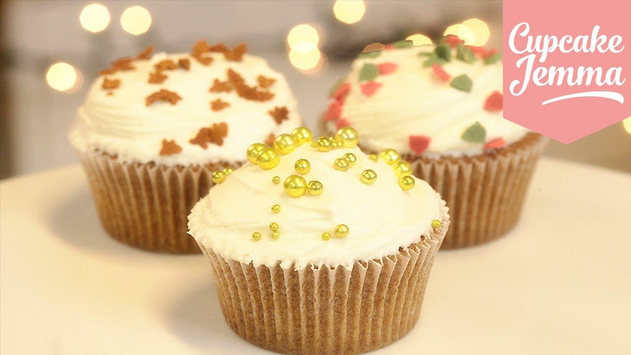 Cupcake Jemma Cake Recipe: Spiced Christmas Cupcakes