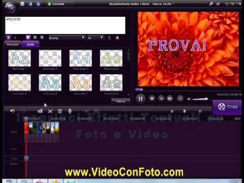Crea Video con Foto e Musica con Video Editor