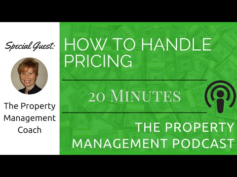 Starting Property Management Company Pricing Structure Ft The Property Management Coach
