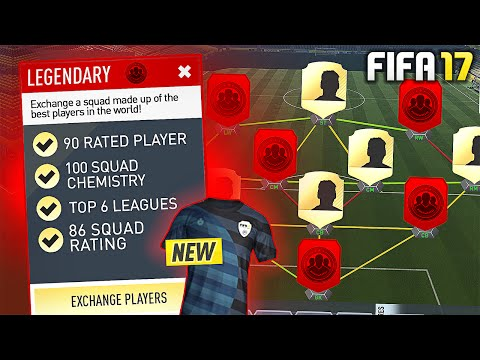9 NATIONS 7 LEAGUE SQUAD BUILDER CHALLENGE! (COMPLETED) - #FIFA17 Ultimate Team