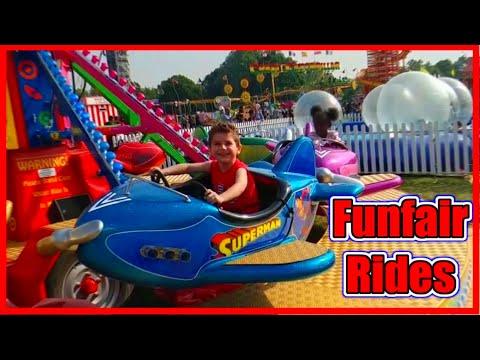 Kids Carnival Rides Amusement Park Fun Fair Ride for Children in London by Robin's Fun Playtime  