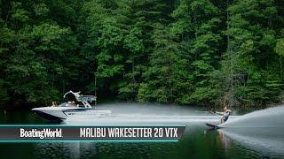 Malibu Wakesetter 20 VTX – Boat Review