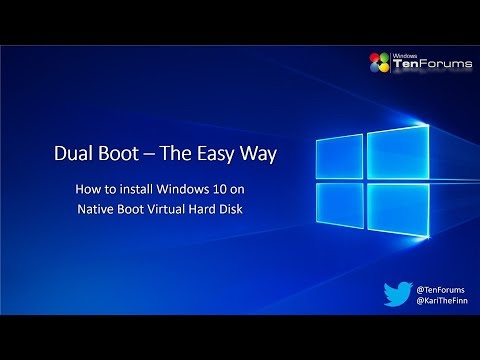 Native boot VHD – Dual boot made easy! – Win10 Guru