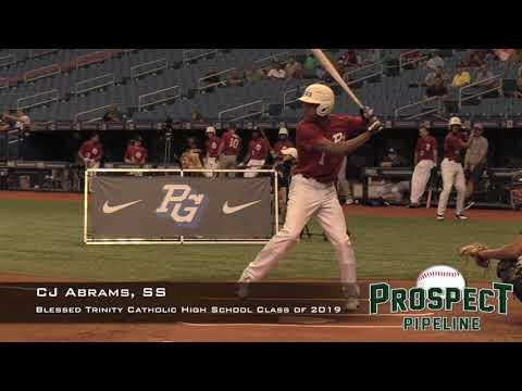 CJ Abrams Prospect Video, SS, Blessed Trinity Catholic High School Class of 2019