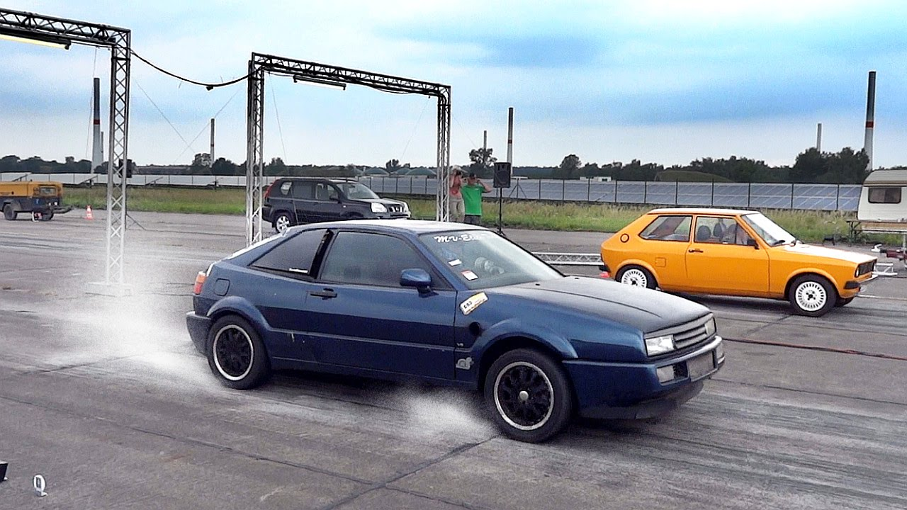 vw corrado vr6 twin engine turbo sound drag race acceleration youtube. Black Bedroom Furniture Sets. Home Design Ideas