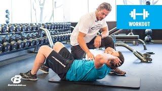 Marc Megna's Lifting Lessons: Abdominal Crunch - Bodybuilding.com