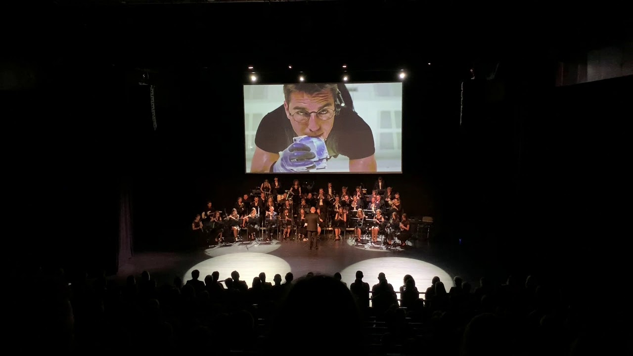 Mission Impossible Theme, arr. T. Mashima - Wrzesińska Orkiestra Dęta