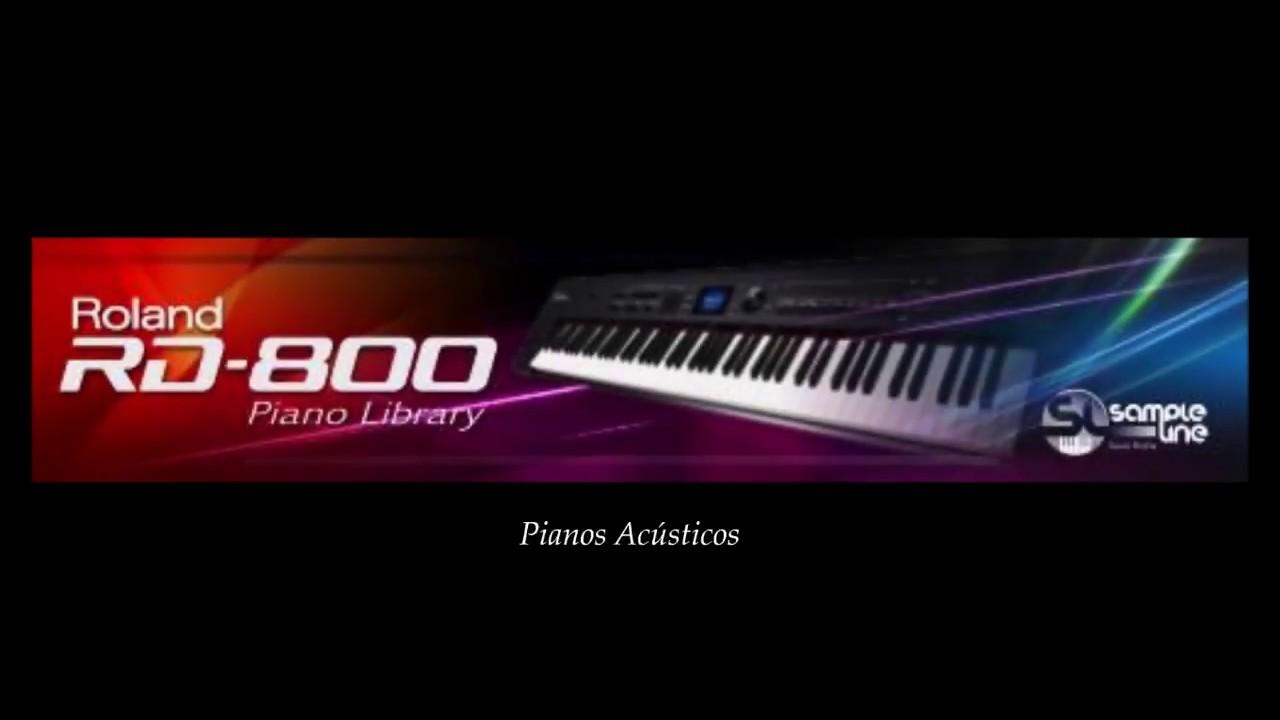Rd 800 Piano Library Pianos Acusticos Youtube