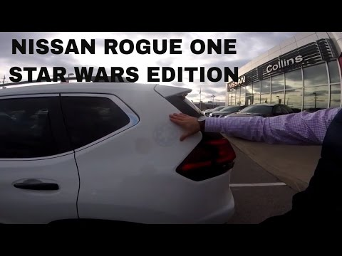 2017 Nissan Rogue One Star Wars Rogue One Limited Edition