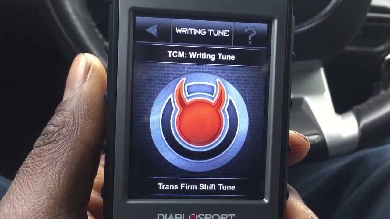 DiabloSport intune i3 install 2010 Camaro SS