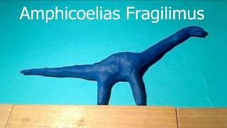 Tyrannosaurus Rex vs Amphicoelias PIVOT parodies