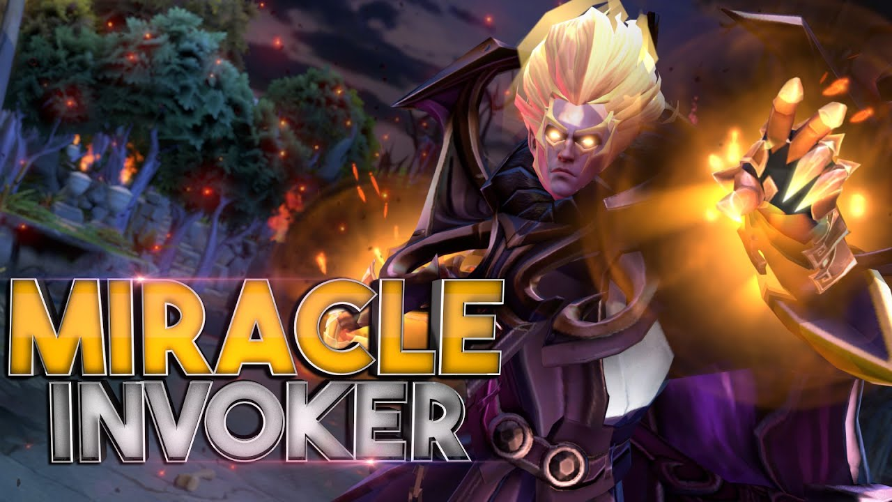 BEST INVOKER IN DOTA 2 - TOP 1 Miracle thumbnail
