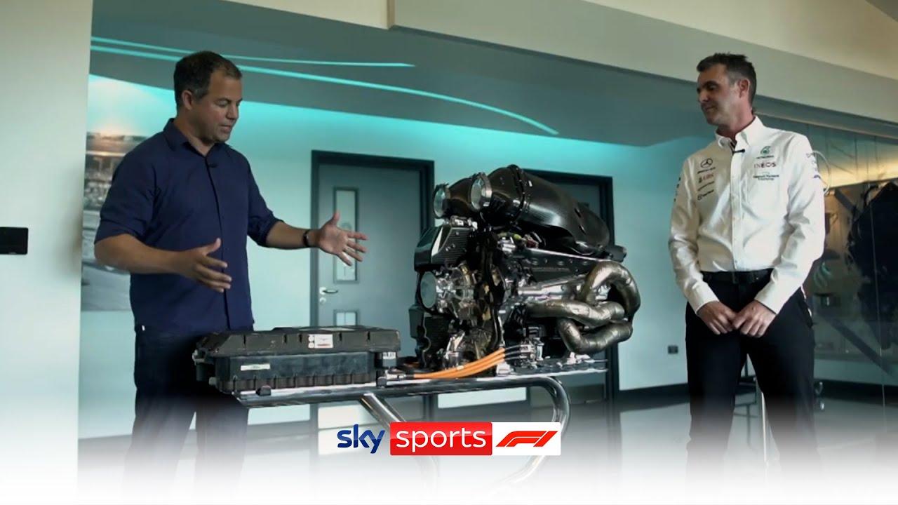 The hybrid engine explained with Ted Kravitz! ⚙️