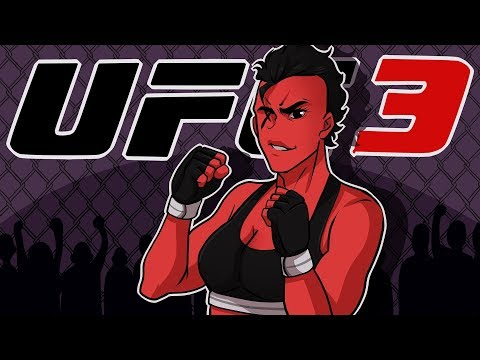 MS. CARTOONZ IS IN THE BUILDING! | EA UFC 3 (Women's Strawweight Career) (EP1)