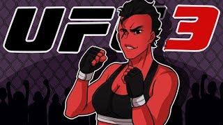 BAYAN CARTOONZ BİNA BULUNMAKTADIR. (Kadın Strawweight Kariyer) | EA UFC 3 (EP1)