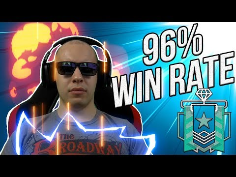 What a 96% WIN RATE DIAMOND Looks Like - Rainbow Six Siege
