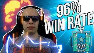 What a 96% WIN RATE DIAMOND Looks Like - Rainbow Six Siege YouTube Videos