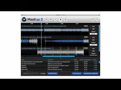 Mashup Software app - Create Your Own Songs, Mashups and DJ Sets