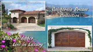 California Dream Custom Architectural Garage Doors By Dynamic Garage Door