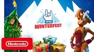 Fortnite - Winterfest Launch Trailer - Nintendo Switch