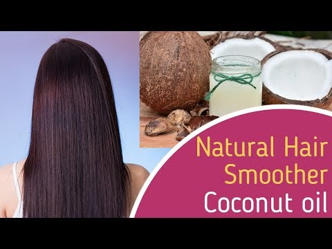 Natural Hair smoother - Coconut Oil for Nice, Shiny, Silky Hair
