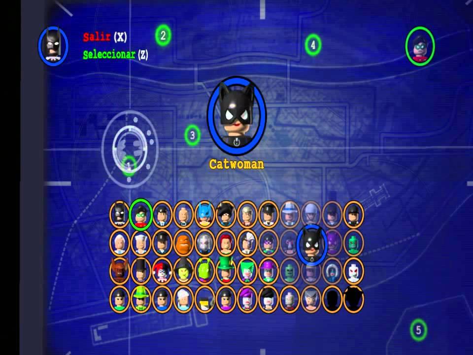 LEGO Batman The Videogame Todos lo personajes/All ...