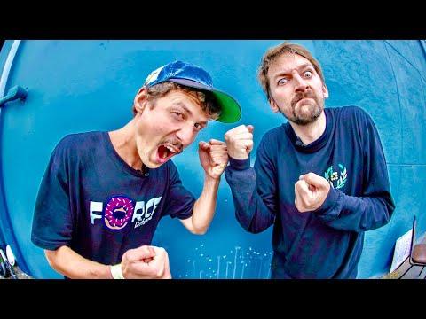 THE WORLD'S BEST FLATGROUND SKATER VS BRAILLE TEAM
