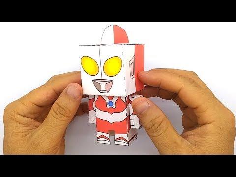 How to Make Original Ultraman Papercraft