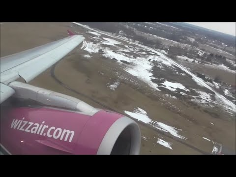 Wizzair Airbus A320-232 | Vilnius to Malmö *Full Flight*