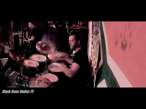 Black Bone Nation - Blacked Out - Henri Viljoen Drum Cam - Railways Café, South Africa 2019