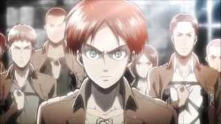 Repeat youtube video Shingeki no Kyojin - Opening 1, 2 - 1080p HD