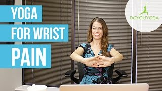 Office Yoga for Wrist Pain | Day 5 | Office Yoga Challenge